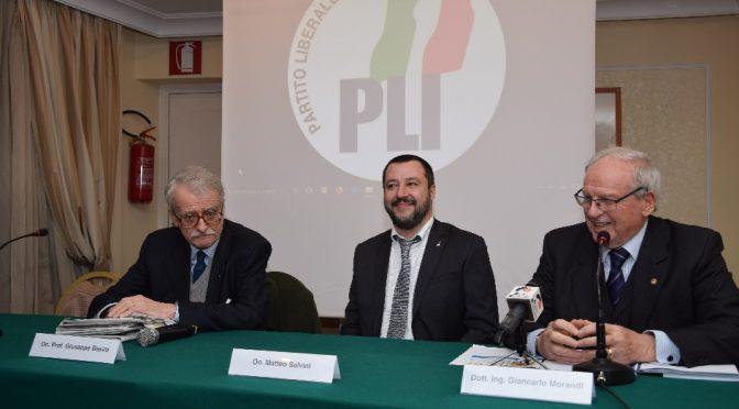 invettiva contro il p.l.i., partito liberale italiano