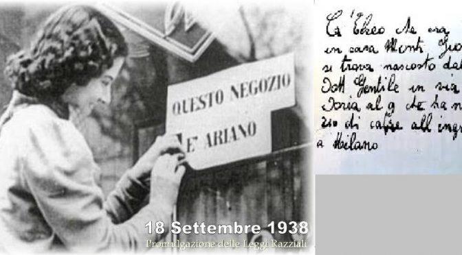 ITALIANI BRAVA GENTE: DAL MANIFESTO FASCISTA SULLA RAZZA ALLA LEGA RAZZISTA