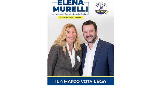 ON. ELENA MURELLI, LEGA PER SALVINI, PROFESSIONE ACCATTONA
