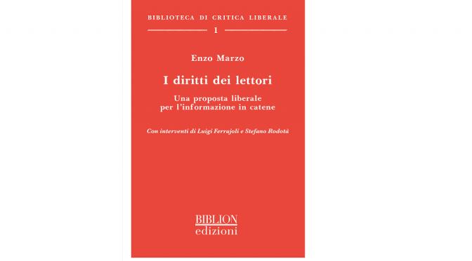 """""""I DIRITTI DEI LETTORI"""", UN NUOVO LIBRO DI ENZO MARZO, SCARICABILE QUI GRATUITAMENTE"""