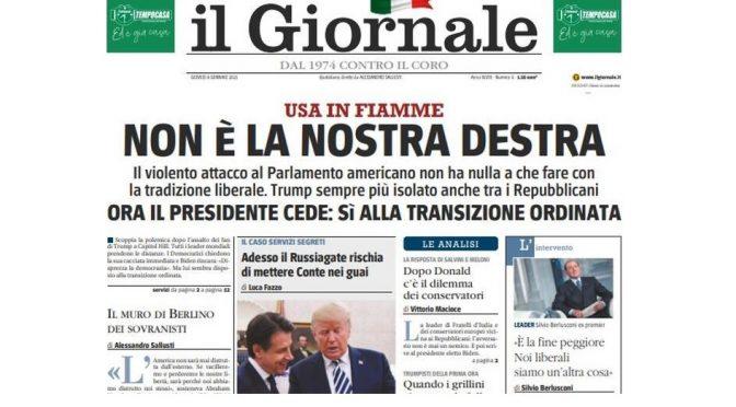 LA DESTRA ITALIANA CORRE INVANO AI RIPARI
