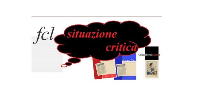 "situazione critica ""una crisi inspiegabile"""