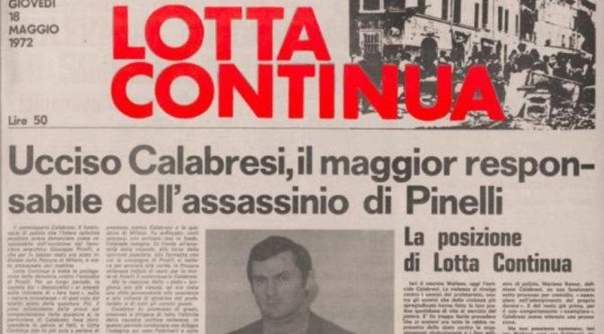 Quella lunga scia di sangue che ci ha rubato il '68
