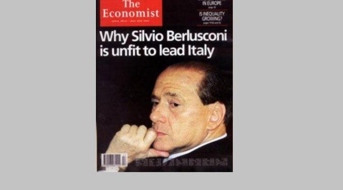"""can can finale della Repubblica italiana: """"per Berlusconi al quirinale"""""""